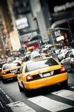 New York taxis Plakaty do Salonu Plakat
