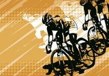 bicycle racing  Sport Fototapeta