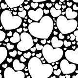 Seamless pattern with hearts Tapety Miłosne Tapeta