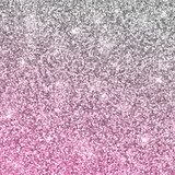 Silver pink glitter background. Vector Fototapety do Salonu Fryzjerskiego Fototapeta