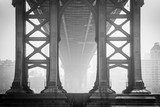 Under the Bridge - Brooklyn Mosty Obraz