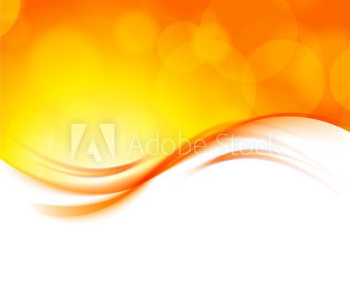 Abstract orange background  Na laptopa Naklejka
