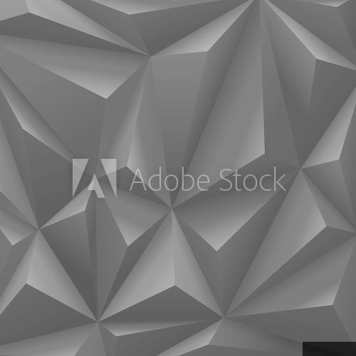 Black carbon background abstract polygon. Fashion luxury  Na meble Naklejka