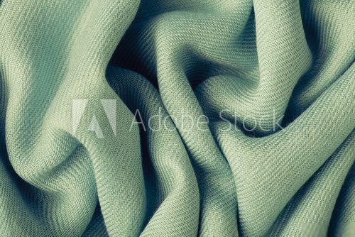 Gray background abstract cloth wavy folds of textile texture  Tekstury Fototapeta