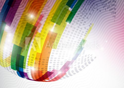Abstract Colorful Background  Abstrakcja Fototapeta