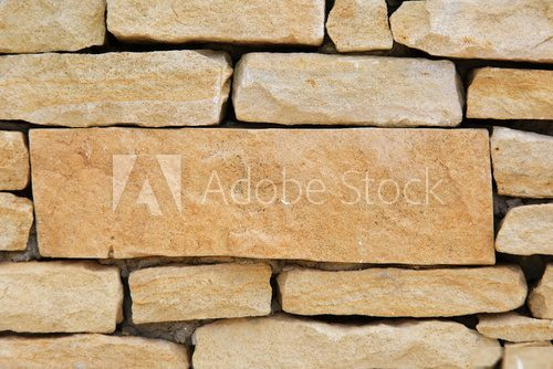 Stone wall as background.  Mur Fototapeta