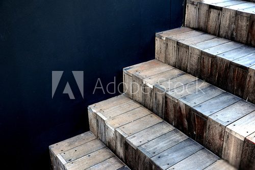 Abstract stairs in interior  Schody Fototapeta