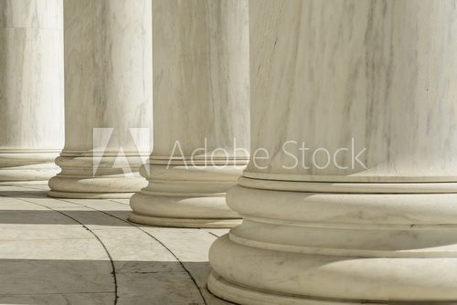 Pillars at the Jefferson Memorial Styl Klasyczny Fototapeta