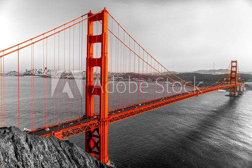 Golden Gate, Kalifornia Architektura Fototapeta