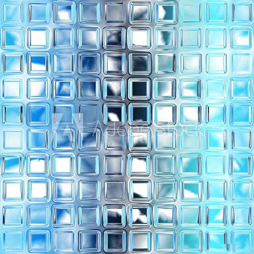 Luksfery Niebieskie Szkło Na Tapecie Fototapety Do