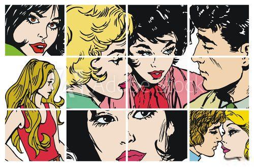 komiksy dla nastolatków czarno na białych orgiach