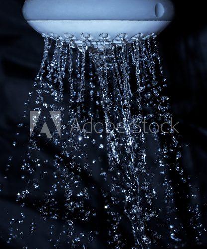 Pod Prysznicem Fototapeta Fototapety Do łazienki łazienkowe Demur