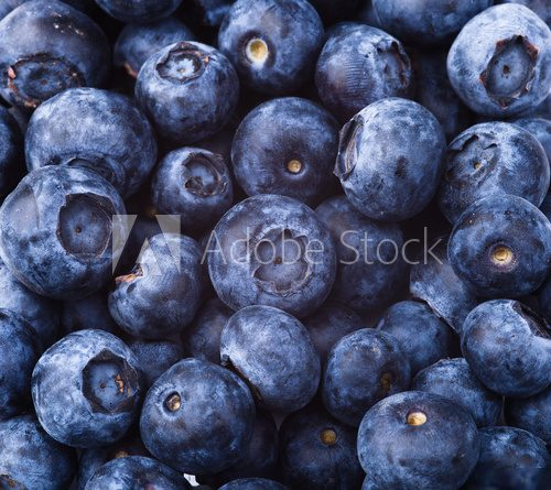 many blueberries