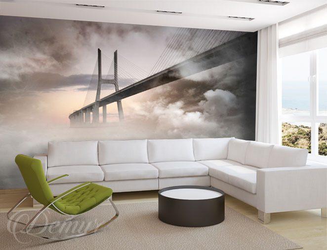 most we mgle architektura fototapety demur. Black Bedroom Furniture Sets. Home Design Ideas