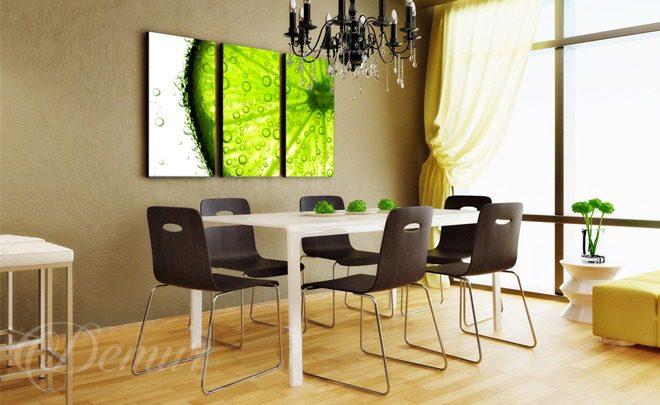 owocowy glamour do jadalni obrazy demur. Black Bedroom Furniture Sets. Home Design Ideas