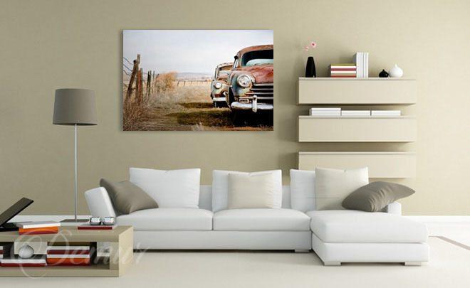 Salon samochodowy do salonu obrazy demur for Leinwandbilder wohnzimmer