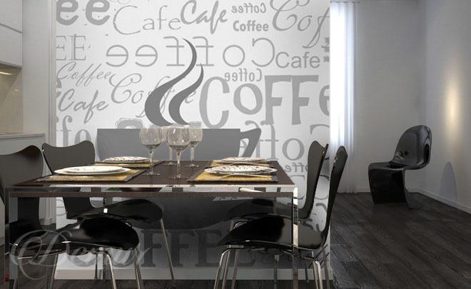 Domowa restauracja Elegancka jadalnia  do kuchni   -> Fototapety Kuchenne Aranzacje