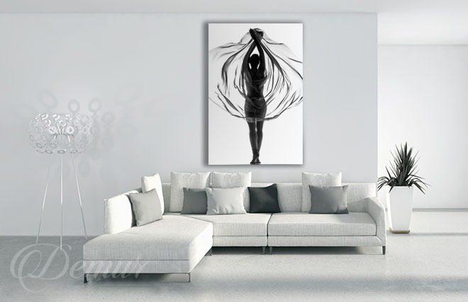 Tiulem Otulona Czarno Białe Obrazy Demur