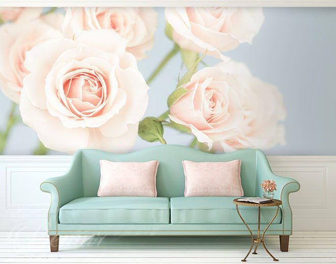 f602b542579840 Fototapety rysunki kwiatów • Demur®