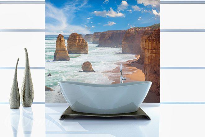 Kąpiel Nad Brzegiem Oceanu Do łazienki Fototapety Demur