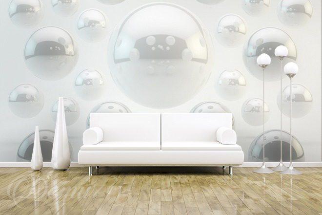 Perłowe Kule Trójwymiarowe 3d Fototapety Demur