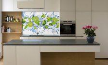 Owocowo warzywna kuchnia do kuchni fototapety demur - Fototapete kuchenruckwand ...