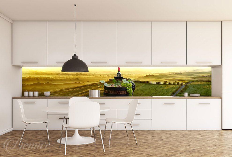 Fototapety Do Kuchni Pod Szafki Aranżacje Kuchenne Demur