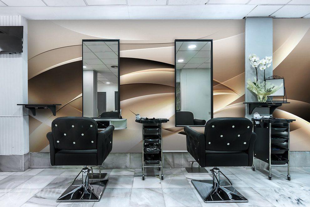 W Objęciach Piękna Do Salonu Fryzjerskiego Fototapety